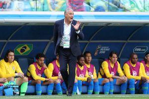 HLV Tite ngã lộn nhào sau pha ghi bàn của Coutinho