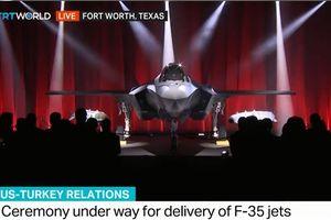 F-35 Thổ vẫn ở Mỹ sau khi được bàn giao