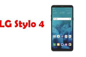 LG Stylo 4 ra mắt: Phablet tầm trung, tràn viền với bút stylus