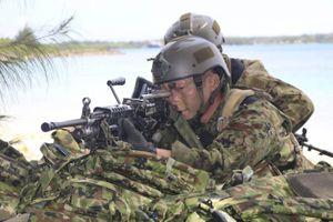 Nhật Bản tập trận chống đổ bộ chiếm đảo trong đêm
