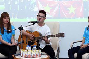 Ca sĩ Cáp Anh Tài ước… Việt Nam đăng cai World Cup