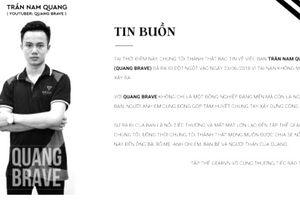 Quang Brave qua đời vì tai nạn trên sân bóng, cộng đồng game Đột kích sửng sốt