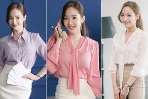 Học 'thư ký Kim' Park Min Young lên đồ công sở khiến chàng phó tổng chết mê