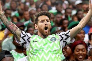 Lionel Messi và dàn sao Argentina vỡ òa vì chiến thắng của Nigeria