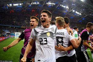 Tuyển Đức có thể phải bốc thăm vào vòng 1/8 World Cup