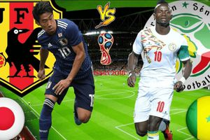 Dự đoán kết quả trận Nhật Bản vs Senegal, World Cup 2018