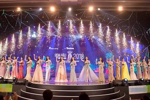 Lộ diện 19 thí sinh đầu tiên bước vào chung kết 'Hoa hậu Việt Nam 2018'