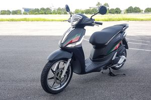 Lộ diện Piaggio Liberty bản đặc biệt sắp bán tại Việt Nam