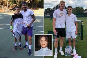 Victoria Beckham chi 900 triệu đồng tham vọng biến con trai thành ngôi sao quần vợt