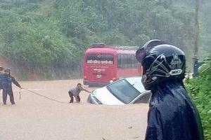Chùm ảnh lũ lụt kinh hoàng tại Hà Giang làm 2 người thiệt mạng