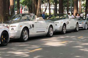 Cận cảnh dàn siêu xe trăm tỷ của ông chủ cà phê Trung Nguyên trong hành trình chạy xuyên Việt