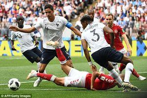 Kết quả trận Đan Mạch vs Pháp, World Cup 2018