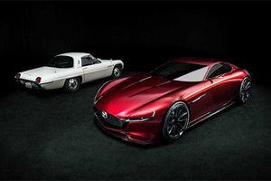 Xe thể thao Mazda RX-9 sẽ sử dụng động cơ xoay SkyActiv-R
