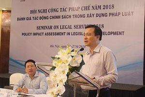 Đánh giá tác động chính sách trong xây dựng pháp luật
