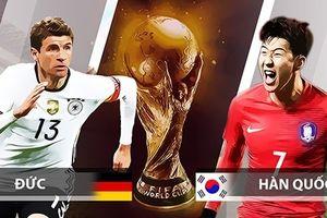 Đội hình ra sân Hàn Quốc vs Đức: Ozil đá chính, Muller dự bị