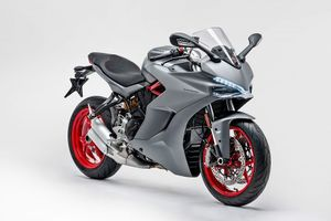 Ducati SuperSport 2019 'ngầu hơn' với màu xám Titanium Grey