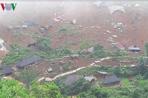 Cả bản Sáng Tùng, huyện Sìn Hồ mất trắng nhà cửa trong đêm