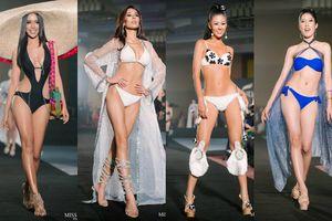 Thí sinh Hoa hậu Hòa bình Thái Lan diện áo tắm khoe đường cong 'bung lụa' hết cỡ trên sân khấu