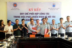 Quảng Ninh: Hải quan-Doanh nghiệp ký Quy chế phối hợp để phát triển đối tác