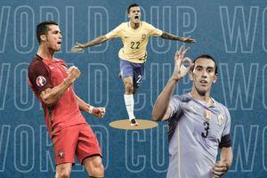 Đội hình hay nhất vòng bảng: Sạch bóng Đức, Argentina