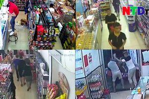 Phẫn nộ băng cướp nhí hoành hành các cửa hàng tiện lợi tại TP HCM