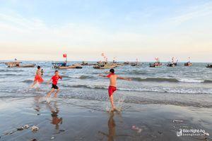 Hoang sơ bãi biển Quỳnh Lập