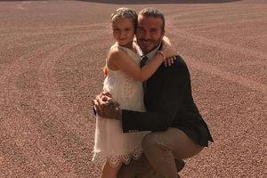 Vợ chồng nhà Beckham tặng quà sinh nhật xa xỉ cho con gái Harper