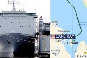 Tàu chở vũ khí hóa học Mỹ vào vịnh Persian làm gì?