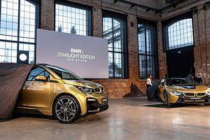 Ra mắt bộ đôi 'xe xanh' BMW i3 và i8 dát vàng
