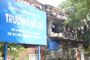 Cận cảnh di tích Trường Bồ Đề trước ngày gia cố
