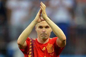 Thất bại cay đắng, Andres Iniesta chia tay tuyển Tây Ban Nha