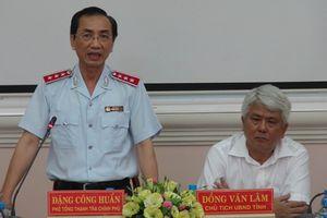 Thanh tra trách nhiệm Chủ tịch UBND tỉnh Trà Vinh
