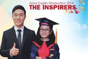 Đội trưởng U23 Lương Xuân Trường 'truyền lửa' trong lễ tốt nghiệp đặc biệt của Apax English