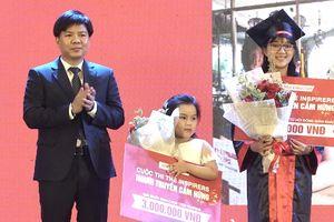 Shark Nguyễn Ngọc Thủy trao giải cho quán quân 'The Inspirers – Người truyền cảm hứng'