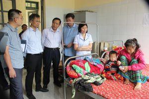 Lào Cai bùng phát dịch sởi trái mùa