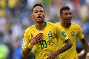 Neymar giúp Brazil vượt qua kỷ lục ghi bàn của tuyển Đức