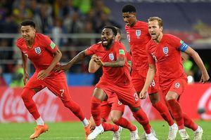 Thắng màn 'đấu súng' siêu kịch tính, Anh vào tứ kết gặp Thụy Điển
