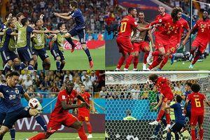 Toàn cảnh Bỉ 3-2 Nhật Bản: Tiếc cho 'Samurai xanh'