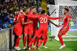 Thắng kịch tính Colombia trên chấm luân lưu, ĐT Anh tiến vào tứ kết