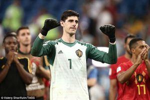 Thủ môn Courtois úp mở tương lai rời Chelsea sau trận thắng Nhật Bản
