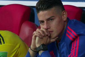 James rơi lệ khi bất lực nhìn đồng đội thất bại trước ĐT Anh