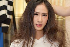 Nhan sắc thí sinh Hoa hậu Việt Nam 2018 trong hậu trường buổi ghi hình