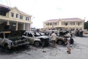 Vụ gây rối tại Bình Thuận: Bắt giam 4 bị can