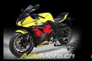 Lóa mắt với Suzuki GSX-R 1000 Sport Edition bản màu vàng