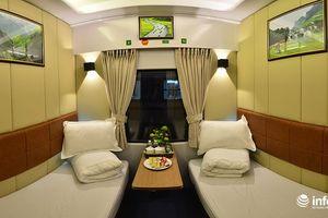 Khám phá 'phòng VIP 2 giường' mới xuất hiện trên đoàn tàu Thống Nhất