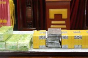 Nghệ An: Phá 2 chuyên án, thu 21 bánh heroin và 5 kg ma túy đá