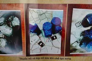 Cận cảnh khối thuốc nổ khủng trong âm mưu ném vào trụ sở công an, nhà riêng của lãnh đạo TP.HCM