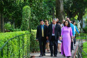 Đoàn đại biểu cấp cao Trung tâm những người lao động Cuba thăm, làm việc tại Việt Nam