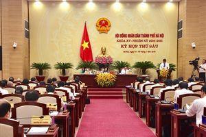 Bế mạc kỳ họp thứ 6, Hội đồng nhân dân TP Hà Nội khóa XV