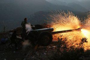 Phiến quân chưa kịp tấn công, quân đội Syria giáng đòn tới tấp vào Latakia